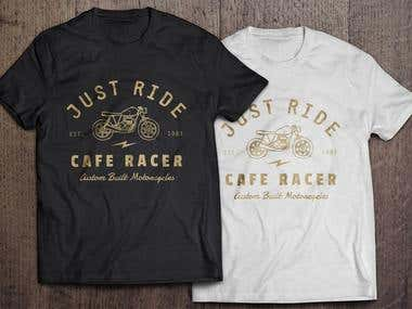 I Will design Professional T-shirt & Mockup