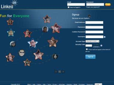 Social networking site like facebook