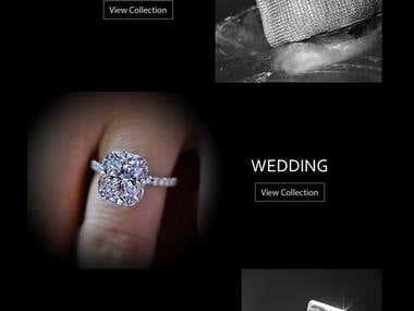 Wordpress Diamonds Online Store