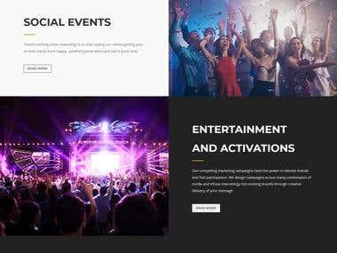 Wordpress Wedding Event Planner