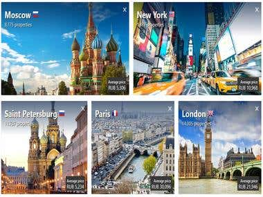 Travel Website - Node.js & Django