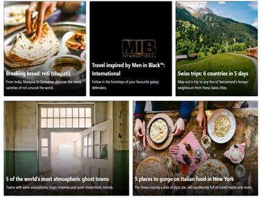 Food simple Store Web site - Angular.js