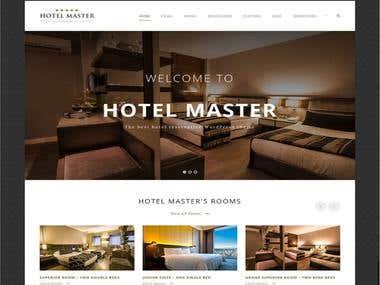Hotel Booking Website - Laravel Framework