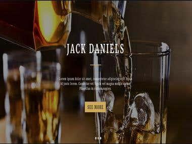 Beer Store Website - Laravel Framework