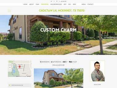 Realtor property site