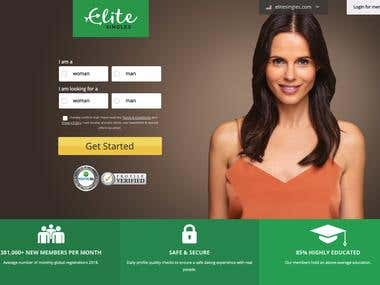 Build Dating Website like Elitesingles