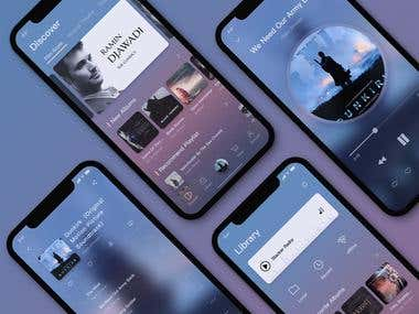 Music Streaming App Development