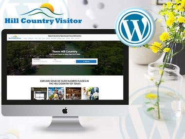 Wordpress Hill Country Visitor