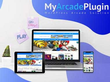 Wordpress Arcade Theme