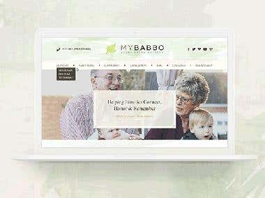 WordPress MyBabbo Website