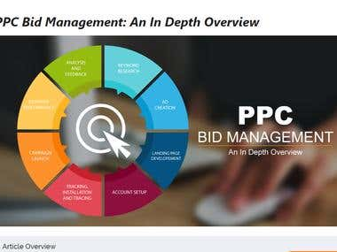 Article Writing for PPC Bid Management
