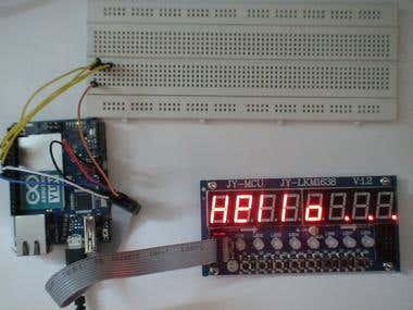 Arduino based display
