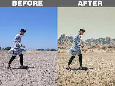 Photo Manipulation and Background Removal