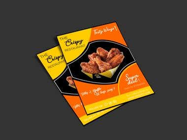 FLYER (CRISPY RESTAURANT FOODS)