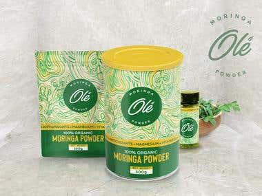 Moringa Herbs Packaging & Branding