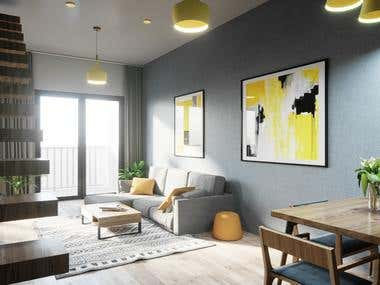 Scandinavian Interior 1