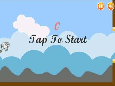 Flappy like game for Android and iPhone
