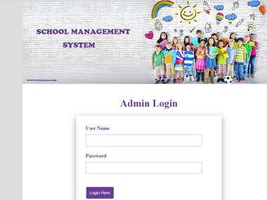 School Management System(Responsive)