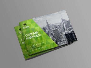 Design a Company Profile for NOBLE TECH