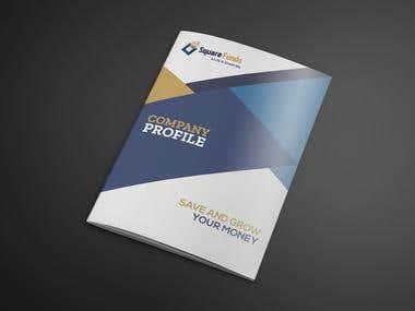Company Profile Design for SQUARE FUNDS