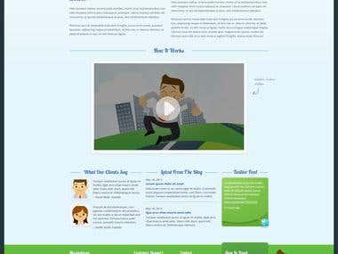 Finance Management Site Design