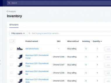Drop-shipping shopify product Csv file