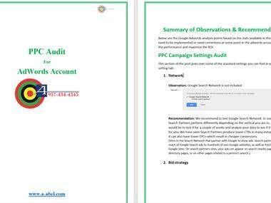 PPC Audit Report