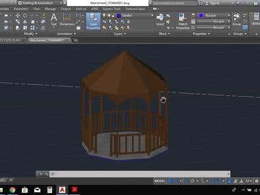 Gazebo Modeling 3D