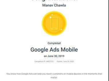 Mobile Ad Certification