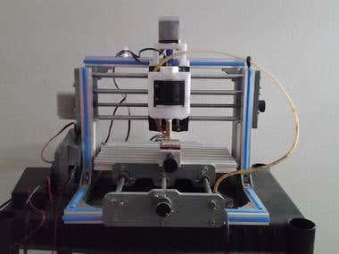 ISS Desktop CNC Machine Optimization