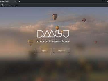 Daagu - eLearning platform for students