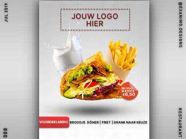 Döner restaurant poster