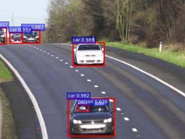 1. IP Camera Car Counting & Tracking