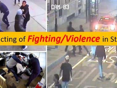 10. Detection Fighting & Violence in street