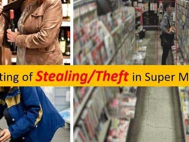 9. CCTV Detection Stealing & Theft in SuperMarket