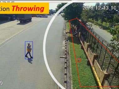 4. IP Camera Detection Throwing