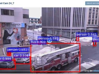 3. IP Camera Object Detection & Tracking