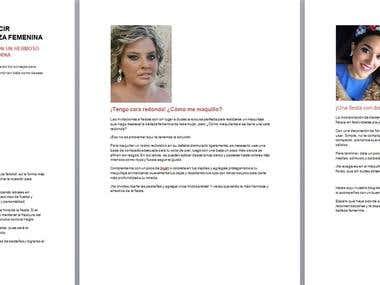 Artículo para Blog de Moda y Belleza