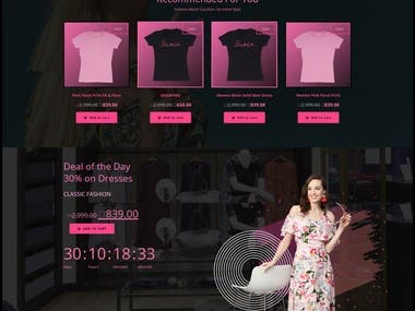 Online Cloth Store