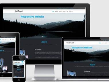 Responsive Website layout