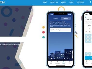 A HTML Website
