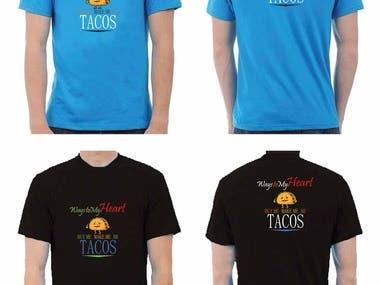TACOS t-shart design