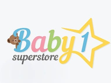 Logo for Baby1 Superstore