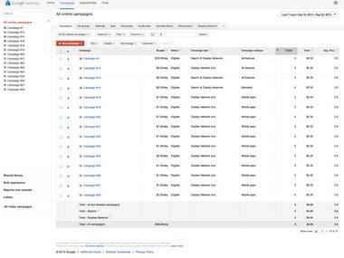 Google ads Account Create