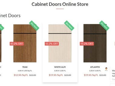 Online cabinets store