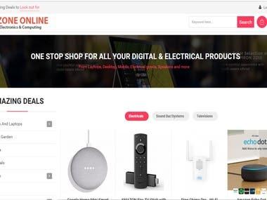 EZONE ONLINE- eCommerce Site