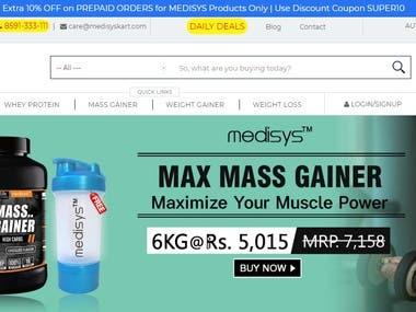 SEO for Medisyskart E-commerce Website