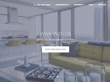 SEO for luxurychicagoapartments Real Estate Website
