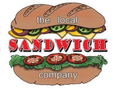 'The Local Sandwich Company' Logo