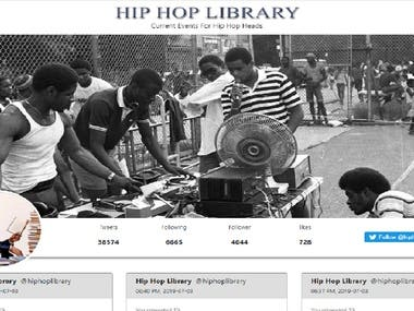 Hiphop Library